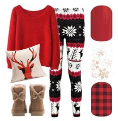 """Christmas 2016"" by jennibarrientos on Polyvore featuring UGG"