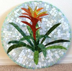 tropical flower mosaic patterns | inspiring mosaics - a gallery on Flickr
