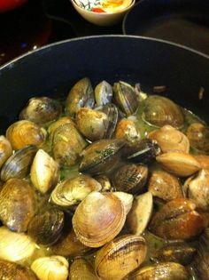 Puget Sound clam dinner - Imgur