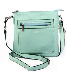 Coach Zip In Logo Small Green Crossbody Bags CFS Give You The Best feeling!
