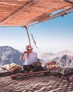 "2,695 Likes, 23 Comments - Visit Jordan (@visitjordan) on Instagram: ""Nothing better than a cup of tea overlooking Petra 😍😍😍 #ShareYourJordan #Petra Photo Credit @acondes"""