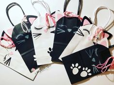 31 Bags For Women – Fashionthestyle Kitten Party, Cat Party, Cat Birthday, Birthday Party Themes, Birthday Ideas, Cat Themed Parties, Wedding Photo Booth Props, Party Favor Bags, Cat Supplies