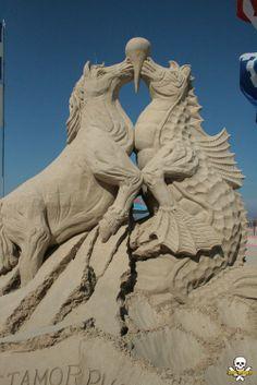 Amazing Sand Sculptures by Carl Jara