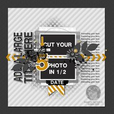 The Nifty Pixel - The Nifty Gals Extravaganza - Sketch Release Scrapbook Layout Sketches, Scrapbook Designs, Card Sketches, Scrapbooking Layouts, Digital Scrapbooking, Disney Scrapbook, Scrapbook Cards, Page Maps, Picture Layouts