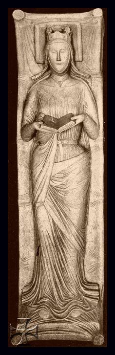 1204post, Eleonora di Aquitania, abbazia di Fontevraud