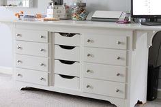 17 Amazing Craft Room Storage & Organising Ideas » The Organised Housewife