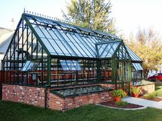 Victorian Manor with optional coldframes by HartleyBotanic, via Flickr