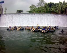 Tubing at Umbul SiGedang, Klaten  It's really exciting ^^