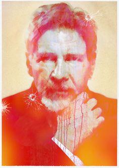 FAZ - Harrison Ford - illustrated by Burkhard Neie