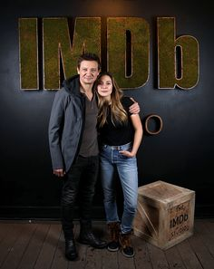 Jeremy Renner and Elizabeth Olsen attend The IMDb Studio featuring the Filmmaker Discovery Lounge, presented by Amazon Video Direct: Day Three during The 2017 Sundance Film Festival on January 22, 2017 in Park City, Utah.