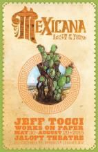 """Jeff Tocci. """"Mexicana Lost & Found"""" Solo exhibition at the Fabulous Jalopy Theatre, May 30- August 29, 2015."""