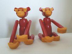 Bekijk dit items in mijn Etsy shop https://www.etsy.com/listing/268749113/monkey-kaj-bojesen-style-1960s