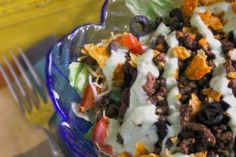 Green Goddess Taco Salad