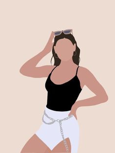 Woman Illustration, Portrait Illustration, Illustration Wallpaper, Graphic Wallpaper, Graphic Illustration, Girl Cartoon, Cartoon Art, Abstract Face Art, Wallpaper Animes