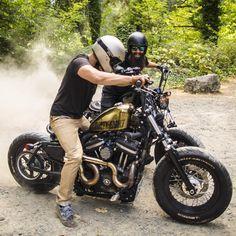 """Instagram의 Kinetic Motorcycles님: """"Dusty"""""""