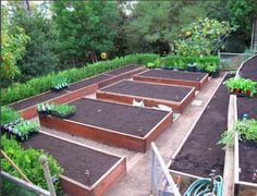 Gardening Vegetable Vegetable garden layout ideas - The steps to creating a kitchen garden sound deceptively easy: build some raised beds, plant vegetables, harvest. Last week when we featured LA garden desi