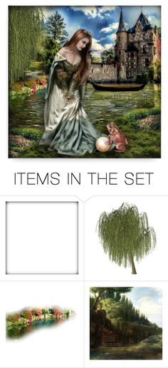 """""""The Frog Prince"""" by debraelizabeth ❤ liked on Polyvore featuring art"""