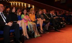 Queen Máxima & Crown Princess Mary at World Conference of Women's Shelters.