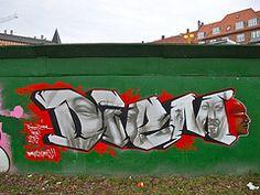 Diego Diem 2013 (Sandra Hoj / Classic Copenhagen) Tags: street art copenhagen denmark graffiti site construction diego kbenhavn diem spejl hegn 2013 byens paralostigres