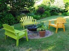 Cadeiras de jardim,lindas