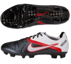 Nike CTR360 Maestri II FG Elite Mens Firm Ground Soccer Cleats(  Black Challenge Red White) 4fa2f75ae6be