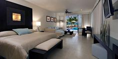 Secrets Aura Cozumel... i could stay in that room forever!!