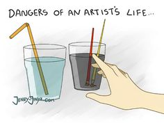 10+ Hilarious Comics That Perfectly Describe The Life Of An Artist