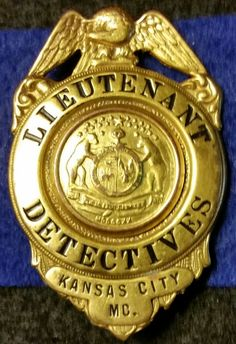 KCPD Lt. Of Detectives 1950's to 60's