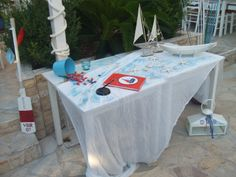 Manos' Christening decoration