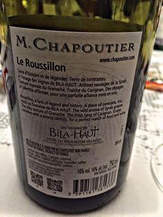 El Alma del Vino.: M.Chapoutier Les Vignes de Bila-Haut 2013.