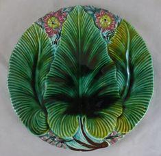Majolica Pottery Plate ...