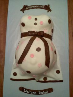 bridal shower cake - Katy, this would be awesome for you!