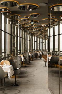 ciel de paris restaurant interior design contemporary decor