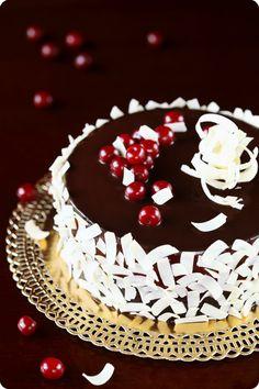 Chocolate Cherry Mousse Cake