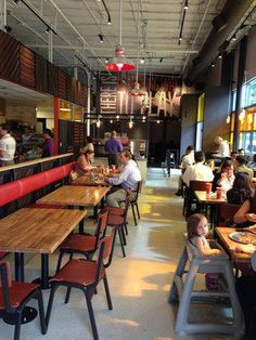 - Blaze Pizza Interior