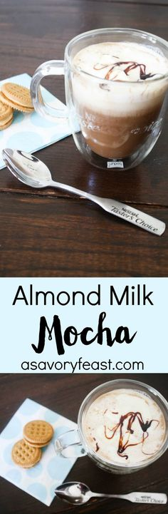 Making your own coffee shop quality drink at home is simple! This Almond Milk…