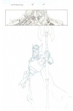 Esad Ribic // Ultimates, The #4 p.14 - Odin Splash - 2012