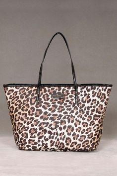 Kate Spade Leopard tote. Love it