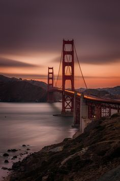 ~~Golden Gate Evening • San Francisco, California by Andrew Rousey~~