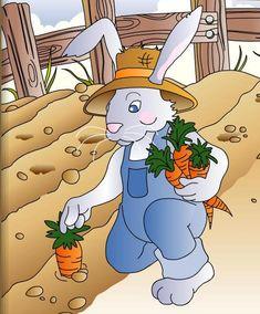 Δραστηριότητες, παιδαγωγικό και εποπτικό υλικό για το Νηπιαγωγείο: Παραμύθι για το Νηπιαγωγείο - Η καροτόσουπα του κυρ-Κούνελου Bowser, Anime, Blog, Kids, Fictional Characters, Education, Decor, Toddlers, Decoration