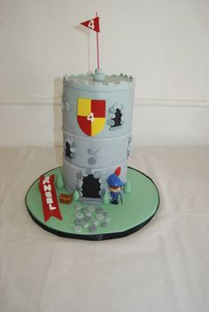 Mike the Knight castle cake again