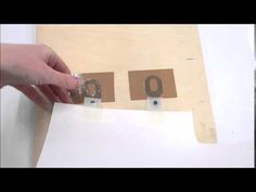 Registering a Print with Ternes Burton Pins