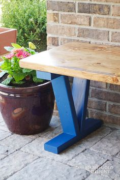 Easy DIY Outdoor Ben