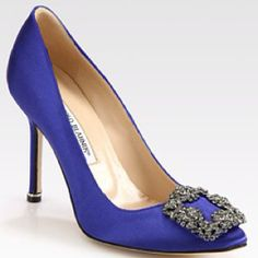 A Mr Big style proposal....Oh ok then! Hangisi by Manolo Blahnik (like I really needed to tell you!)