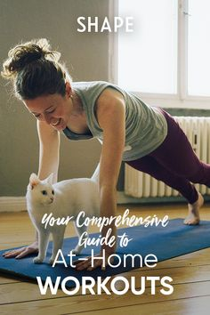We'll help you get set up with this guide to creating the at-home workout routine (and space) that you'll actually be excited about. Weight Lifting Equipment, No Equipment Workout, Fun Workouts, At Home Workouts, Intense Cardio Workout, Youtube Workout, Home Exercise Routines, Gym Membership, Workout Machines