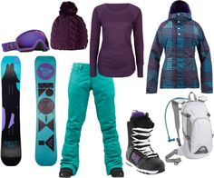Perfect Boarding Outfit