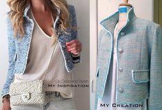 Make you won Chanel-style jacket