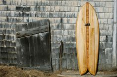 Grain Surfboards are handcrafted in Maine from local cedar wood. The company's founders also offer D.I.Y. kits and board-building workshops ...