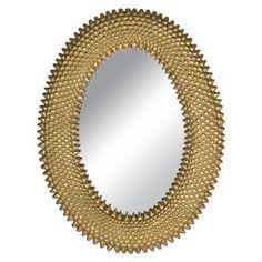 Safavieh Perugia Oval Wall Mirror - Gold