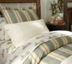 Pick-Stitch Quilt & Sham | Pottery Barn